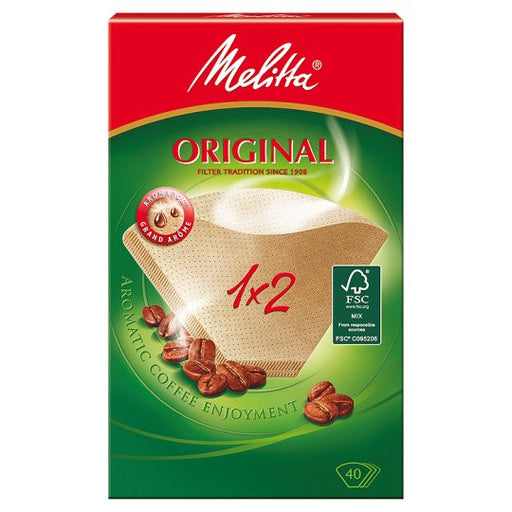 Melitta Original Coffee Paper Filters 1 x 2 (40 pcs)