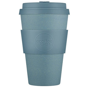 Ecoffee Cup Reusable Bamboo Travel Cup 0.4l / 14 oz. - Gray Goo