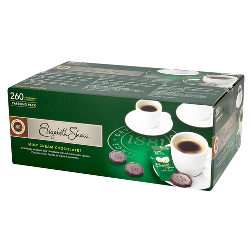 Elizabeth Shaw Mint Cream (260 pcs) Catering Box 1.63kg