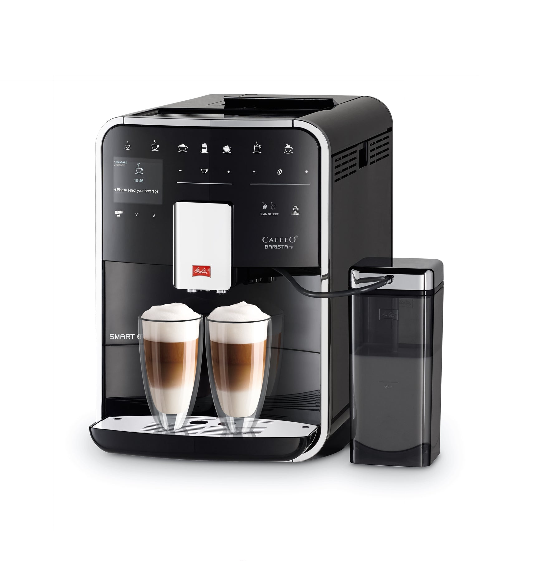 Melitta Barista Ts Smart Bean To Cup Coffee Machine Black With Free Annual Coffee Subscription