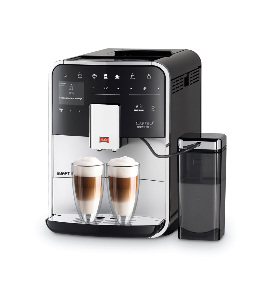 Melitta Barista Ts Smart Bean To Cup Coffee Machine Silver With Free Annual Coffee Subscription