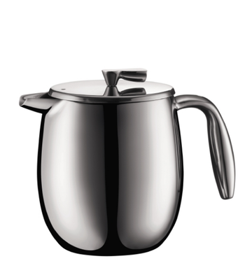 Bodum Columbia 4 cup, 0.5L Cafetiere - Shiny