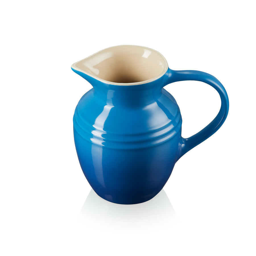 Le Creuset Stoneware Small Breakfast Jug - Marseille Blue