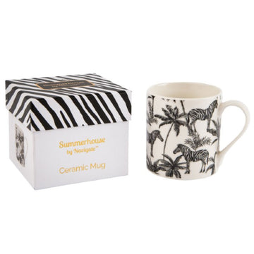 Beau & Elliot Mug Zebra Repeat In Gift Box