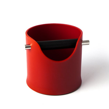 Crema Pro Knock Box 110mm - Red