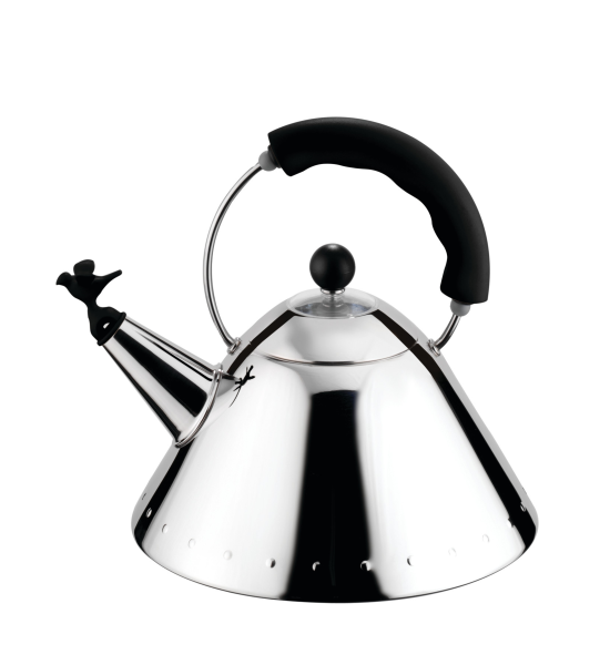 Alessi 9093 B Whisling Kettle by Michael Graves
