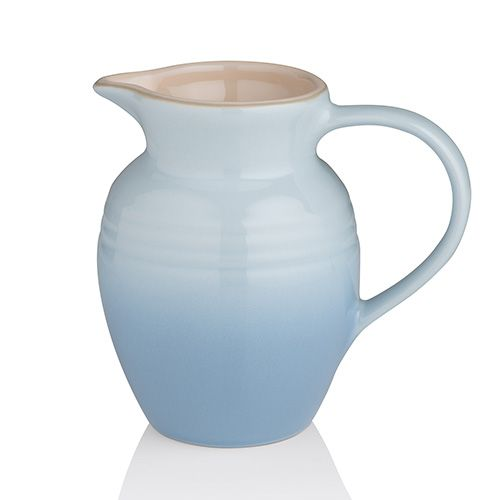 Le Creuset Stoneware Small Breakfast Jug - Coastal Blue