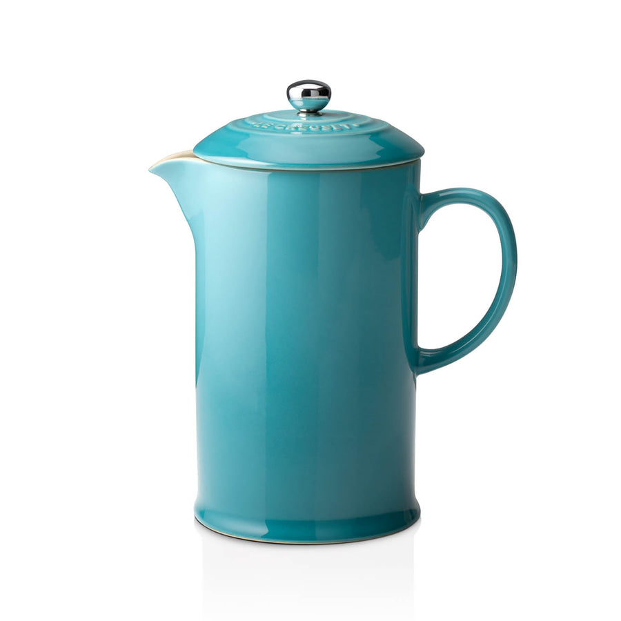 Le Creuset Stoneware Cafetiere - Teal