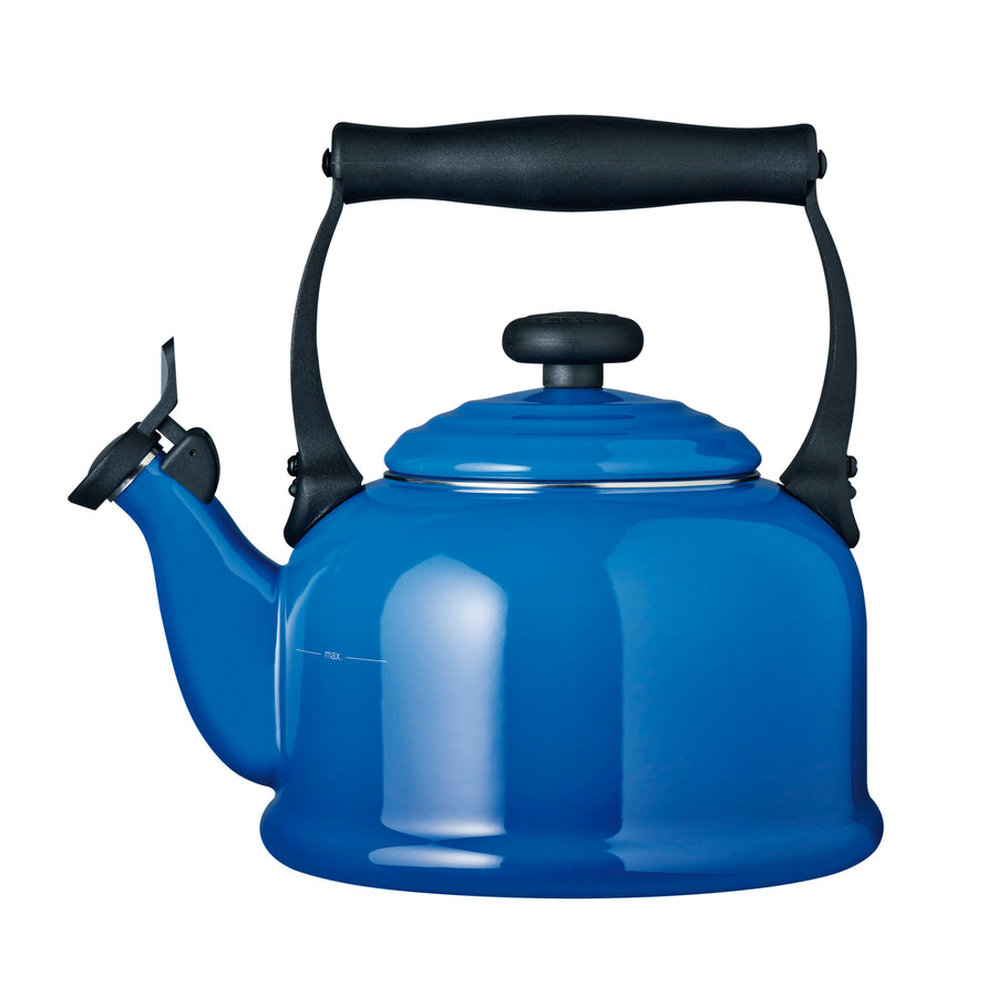 Le Creuset Stoneware Traditional Kettle - Marseille Blue