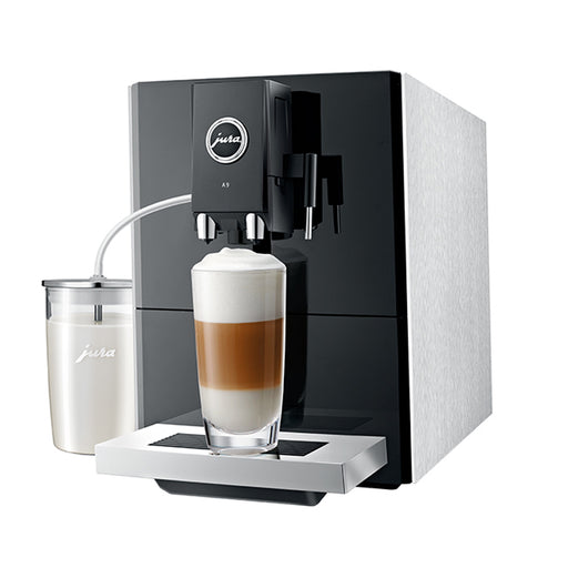 Jura A9 Bean to Cup Coffee Machine - Aluminium