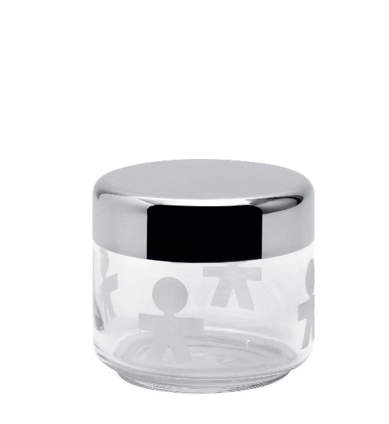Alessi Girotondo Glass Jar, 50 cl