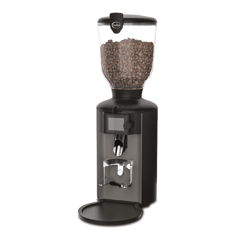 Anfim PRATICA Burr Coffee Grinder for Commercial Use - Grey/Black