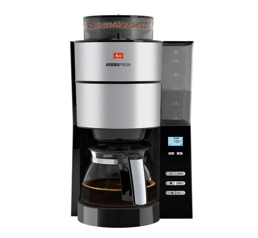 Melitta Aroma Fresh Filter Coffee Machine with Integrated Grinder