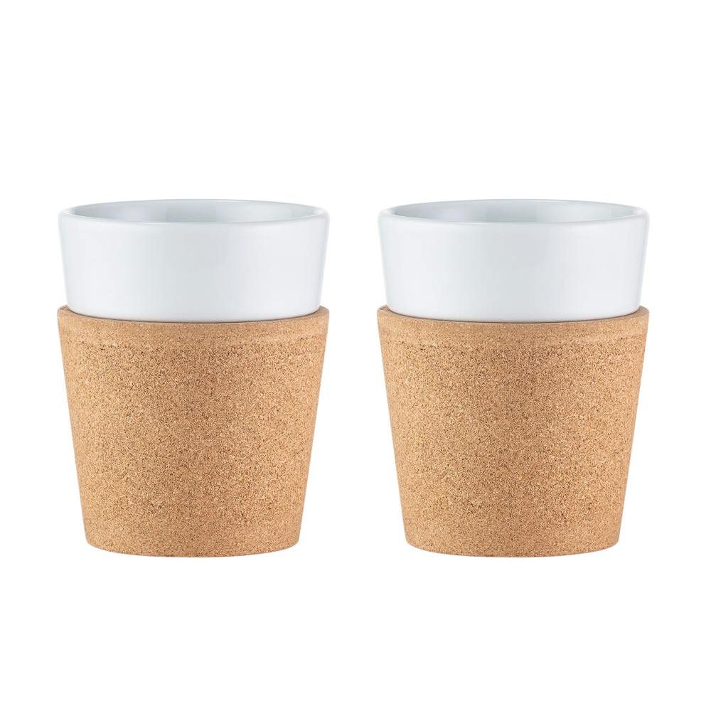 Bodum Bistro 2 pcs Mug with Cork Sleeve 0.3 L