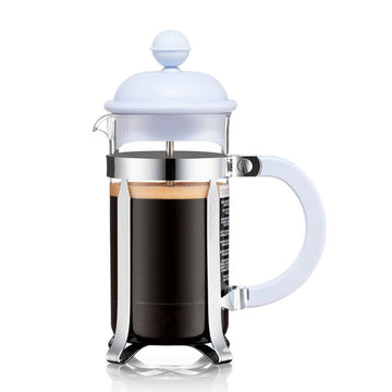 Bodum Caffettiera 3 Cup French Press Cafetiere, 0.35L, Blue