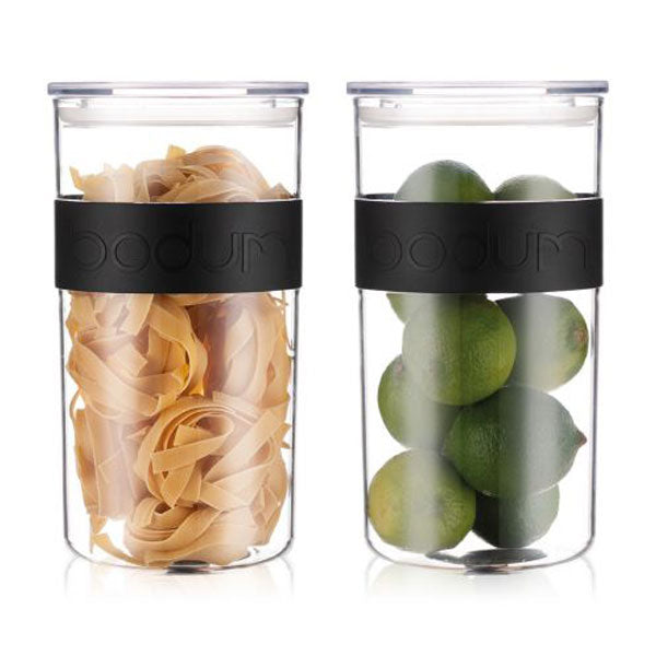 Bodum Set of 2 Storage Jars 2.0 l, 68 oz. - K11830-01SA