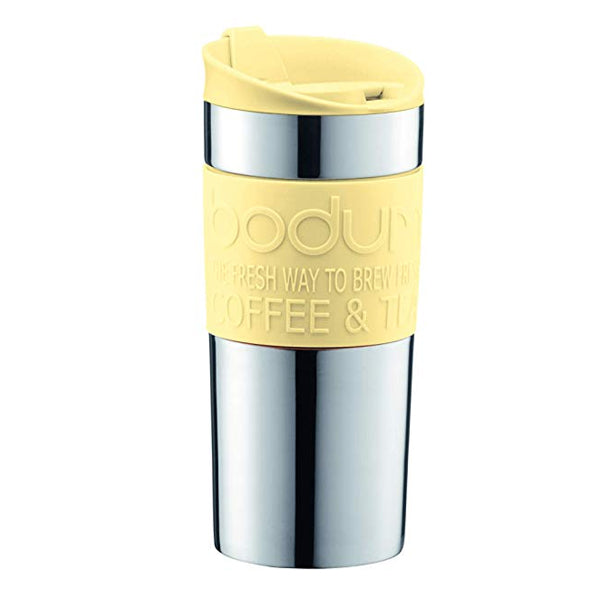 Bodum Stainless Steel Vacuum Travel Mug 11068-341B - Banana Yellow