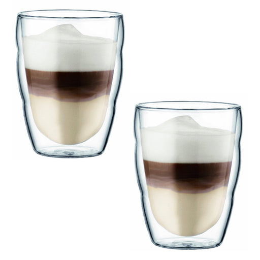 Bodum Pilatus Double Wall Glasses 2 pcs, 0.25L