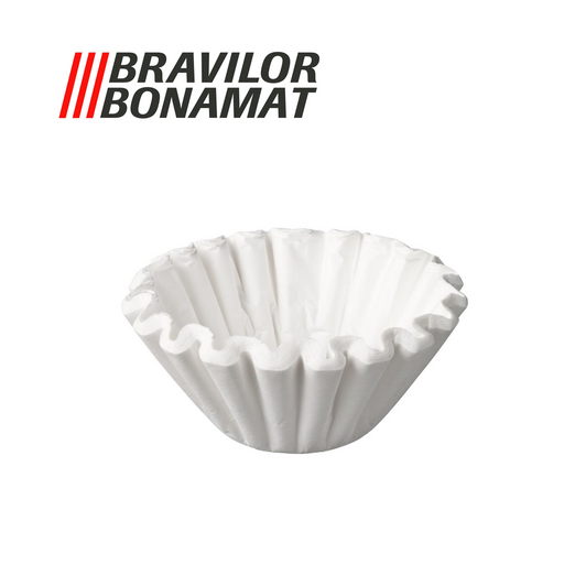 Bravilor Paper Filter Cups, 1,000 pcs for Mondo/Matic/Novo/TH/Iso Filter Coffee Machines