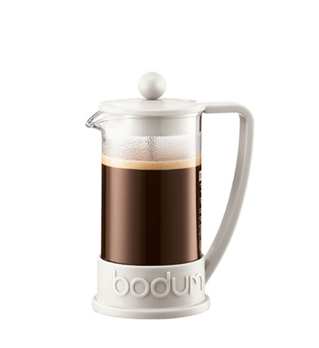 Bodum Brazil 3 cup, 0.35L Cafetiere - Off White  Apps   Save