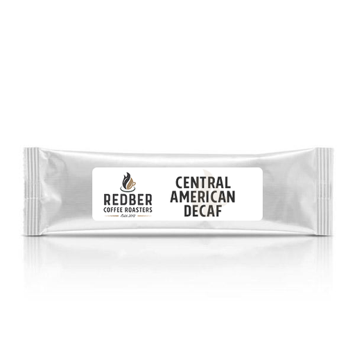CENTRAL AMERICAN DECAF BLEND Medium-Dark Roast - Filter Ground Coffee - Case of 40 Sachets