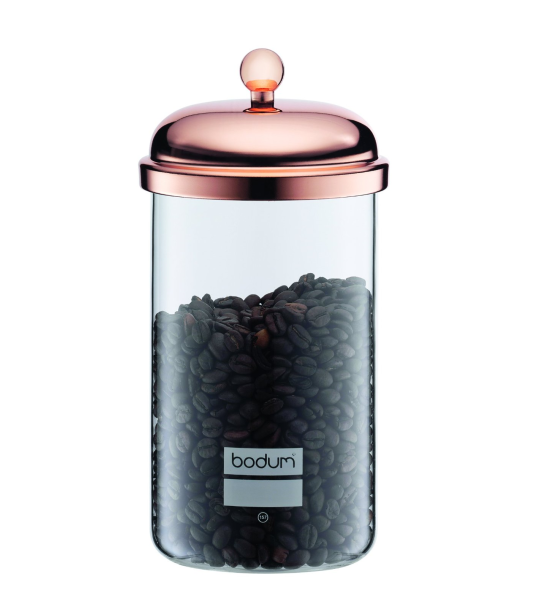 Bodum Chambord Classic Storage Jar 1 L - Copper