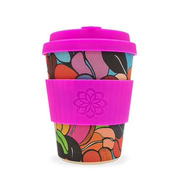 Project Waterfall Ecoffee Cup Reusable Bamboo Travel Cup 0.34l / 12 oz. - Couleur Café