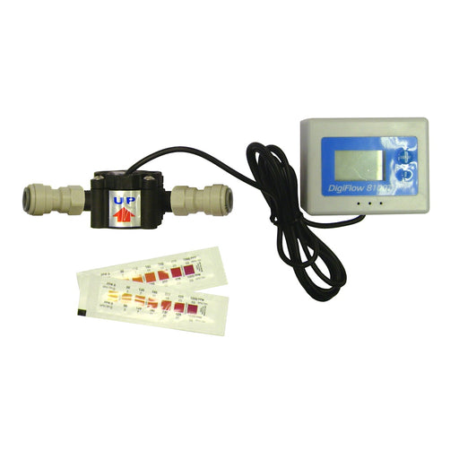 "DigiFlow Digital Water Meter & Test Kit 3/8"" Push Fit"