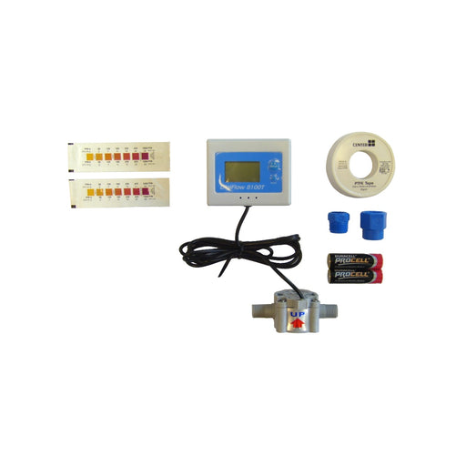 "DigiFlow Digital Water Meter & Test Kit 3/8"" Female Fit 8300T-22"