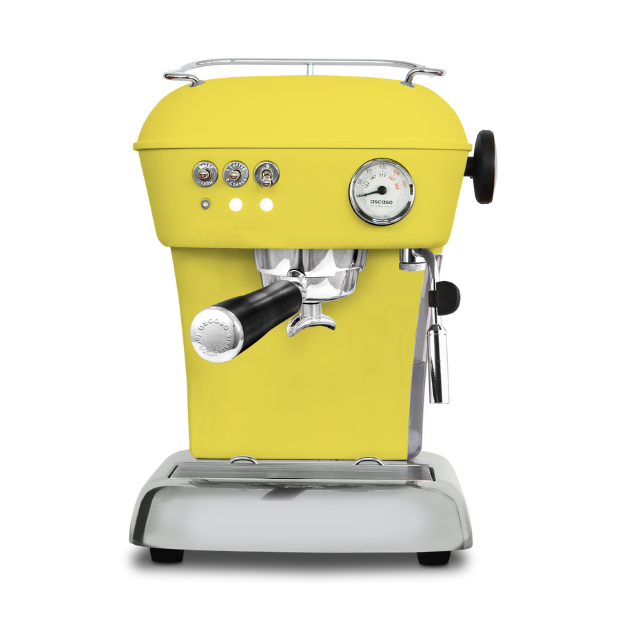 So Pure Professional Barista EVA Espresso Machine - Lemon Yellow