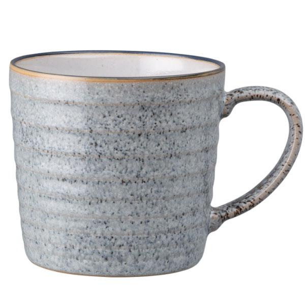 Denby Studio Grey Ridged Mug