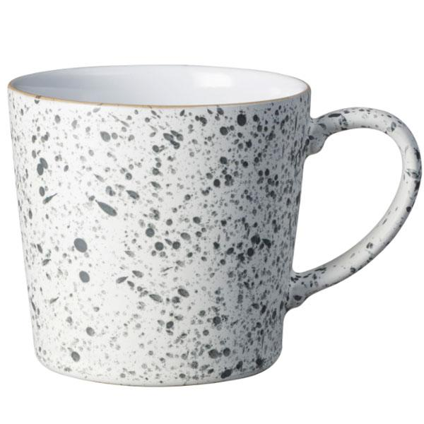 Denby White Speckled Large Mug