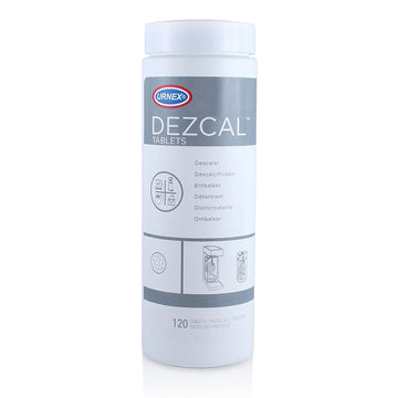 Urnex Dezcal Descaler Tablets 4g Tub of 120 tablets