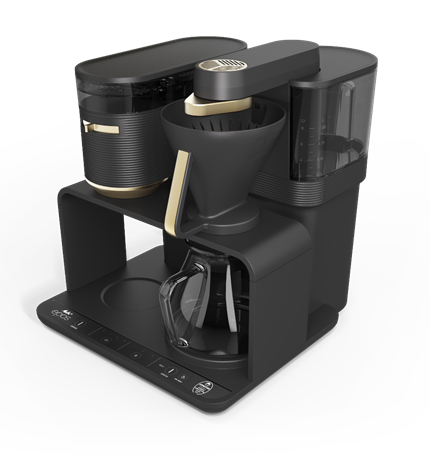 Melitta EPOS Filter Coffee Machine with Built-in Grinder - Gold