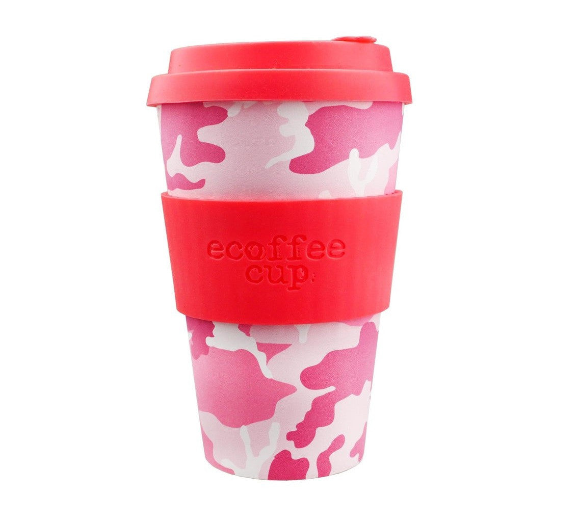 Ecoffee Cup Reusable Bamboo Travel Cup 0.4l / 14 oz. - Miss Wasilla