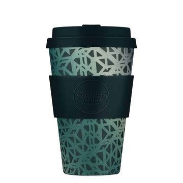 Ecoffee Cup Reusable Bamboo Travel Cup 0.4l / 14 oz. - Blackgate