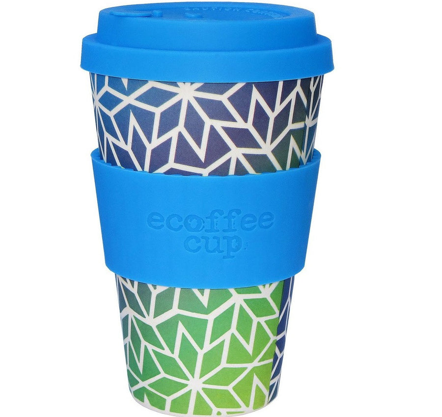 Ecoffee Cup Reusable Bamboo Travel Cup 0.4l / 14 oz. - Stargate