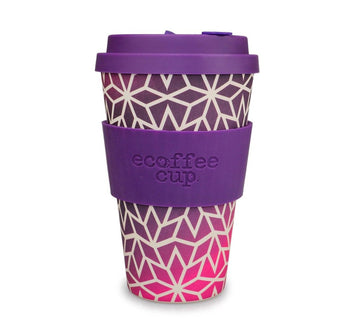 Ecoffee Cup Reusable Bamboo Travel Cup 0.4l / 14 oz. - Stargrape