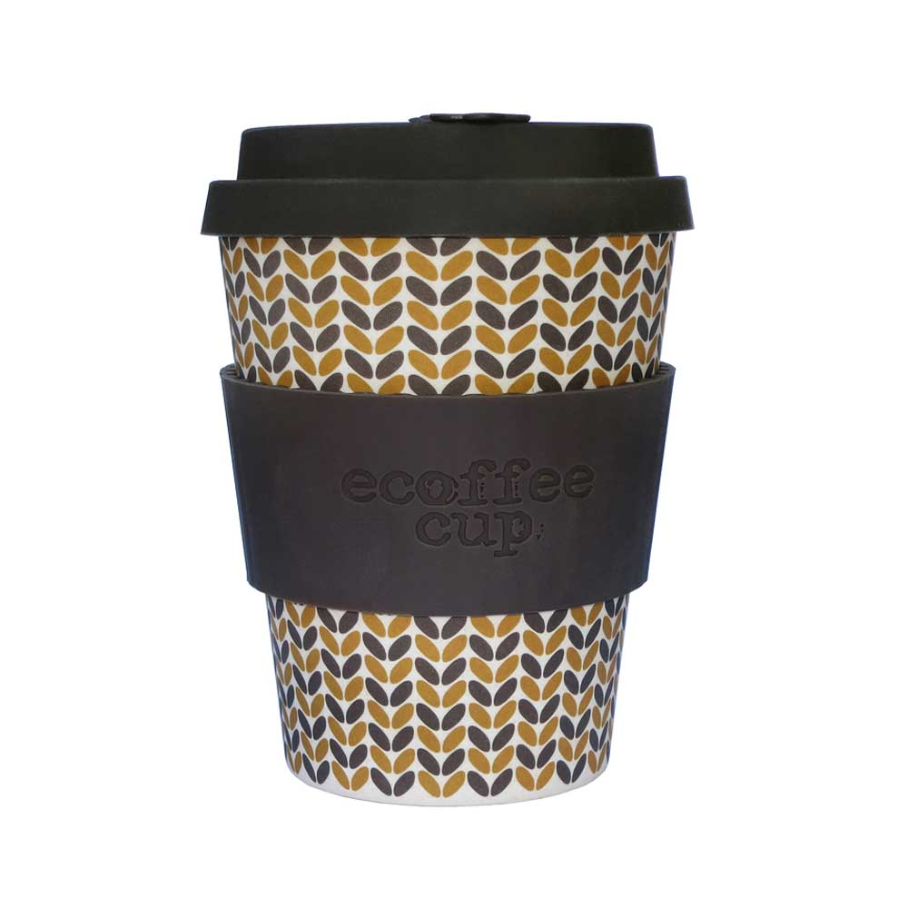 Ecoffee Cup Reusable Bamboo Travel Cup 0.34l / 12 oz. - Threadneedle
