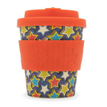 Ecoffee Cup Reusable Bamboo Travel Cup 0.25l / 8 oz. - Little Star Boo Cup