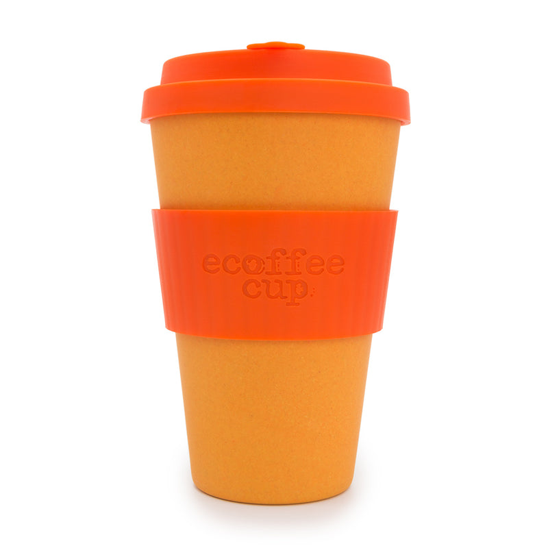 Ecoffee Cup Reusable Bamboo Travel Cup 0.4l / 14 oz. - Orangery