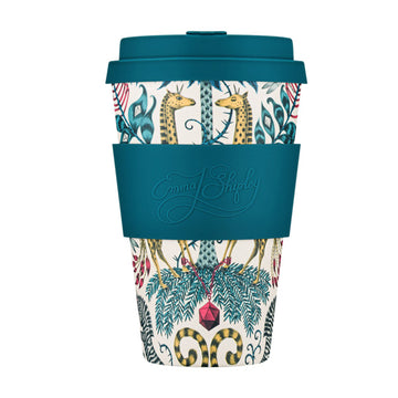 Ecoffee Cup Reusable Bamboo Travel Cup 0.4l / 14 oz. - Emma J. Shipley: Kruger