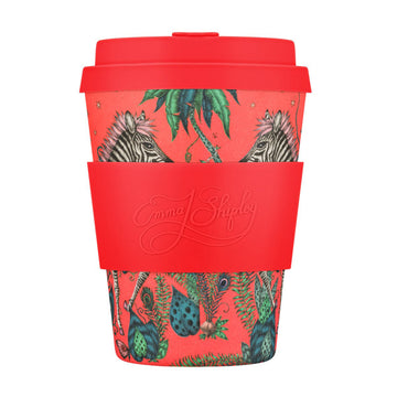 Ecoffee Cup Reusable Bamboo Travel Cup 0.34l / 12 oz. - Emma J. Shipley: Lost World 12oz