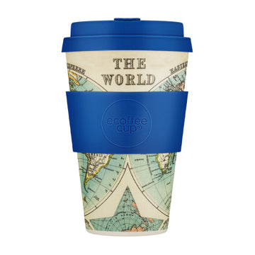 Ecoffee Cup Reusable Bamboo Travel Cup 0.4l / 14 oz. - Mercator