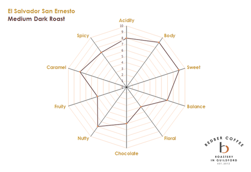EL SALVADOR SAN ERNESTO (Honey Method) Green Coffee Beans