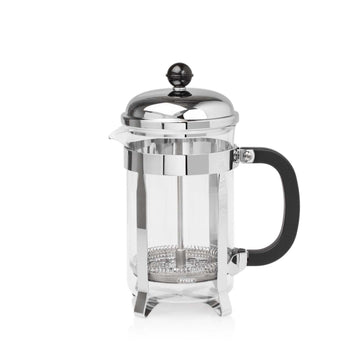 Elia 3 Cup Classic Cafetiere - Chrome