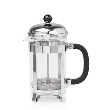 Elia 6 Cup Classic Cafetiere - Chrome