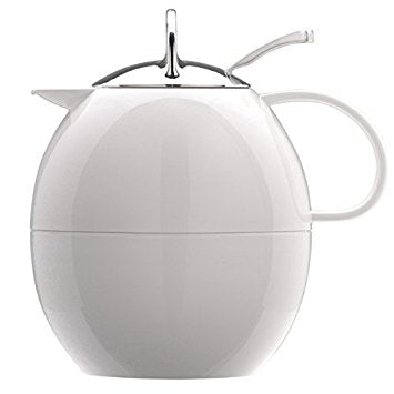 Elia Egg Shaped Coffee Jug 1.0 L - White