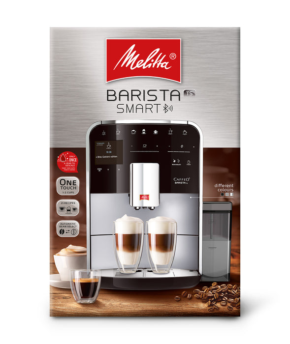 Melitta Barista TS Smart® Bean to Cup Coffee Machine - Stainless Steel