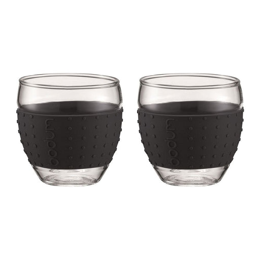 Bodum Pavina 2 pcs, 0.35L with Black Silicone Band